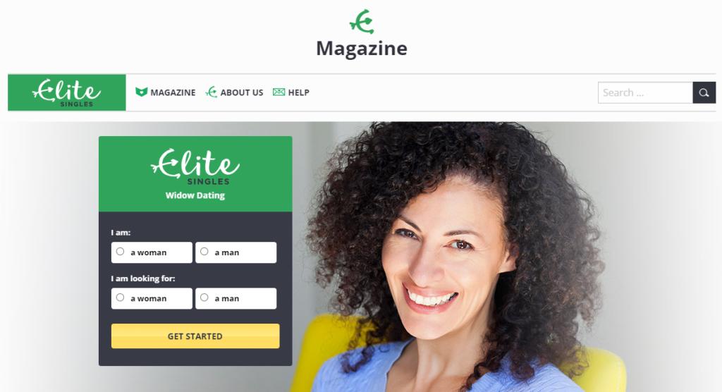 EliteSingles widows dating site