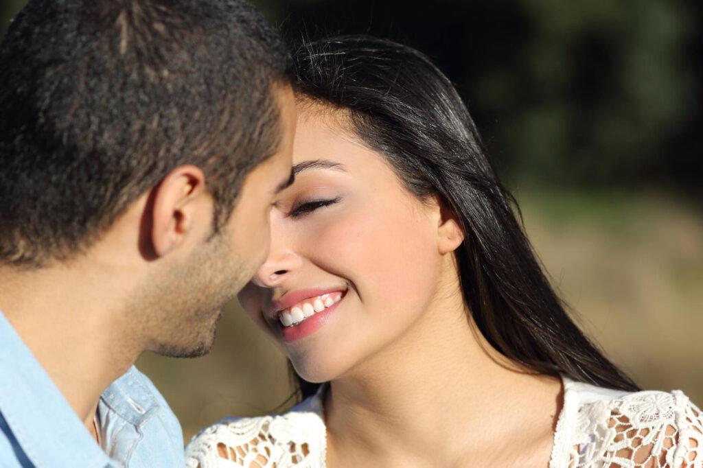 loving muslim couple