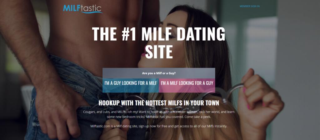 MilfTastic Cougars Dating site