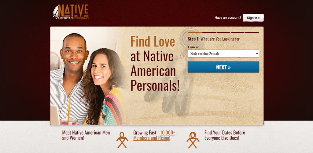 NativeAmericanPersonals review