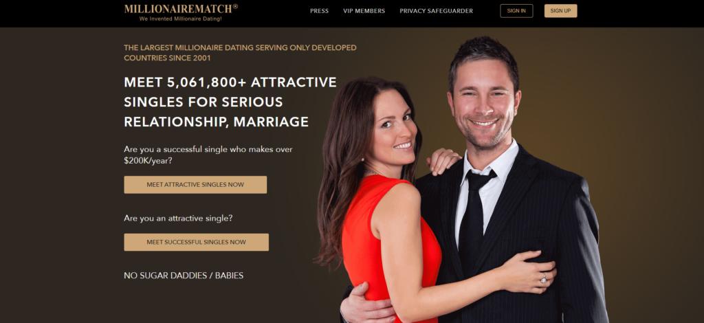 MillionaireMatch.com dating site for rich women