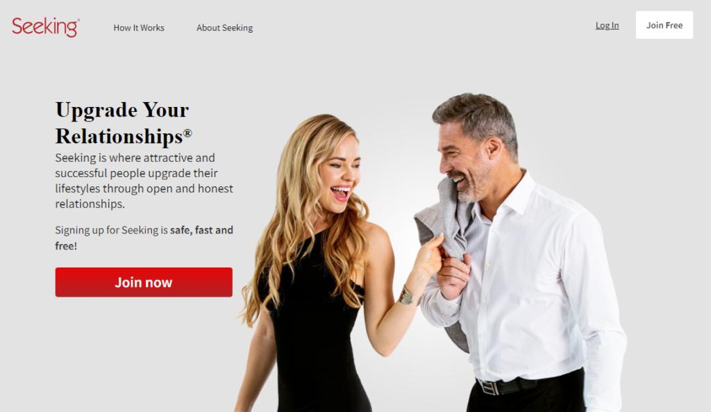Seeking.com dating site for rich women